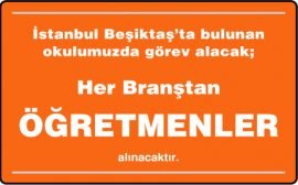 Her Branştan Öğretmen - Beşiktaş